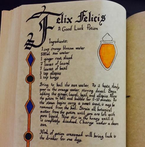英語検索で魔法薬を作ろう!身近な食材で誰でも作れる『幸運の薬:フェリックスフェリシス』のレシピとは?