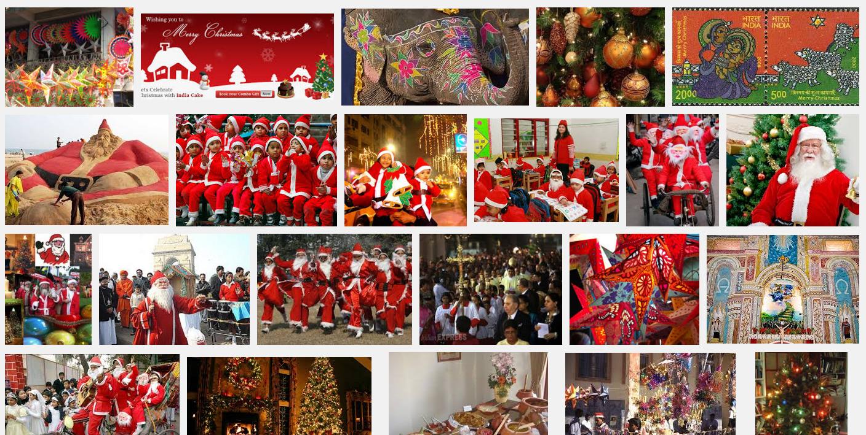 思い立ったら【画像検索】インドのクリスマスってどんな感じ?