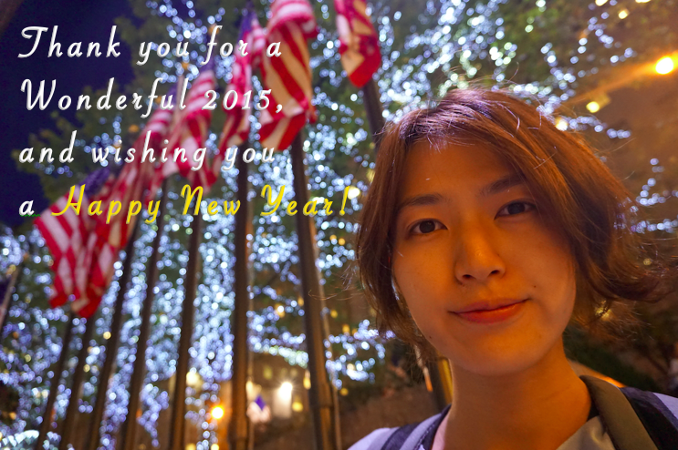Thank you for a Wonderful 2015!