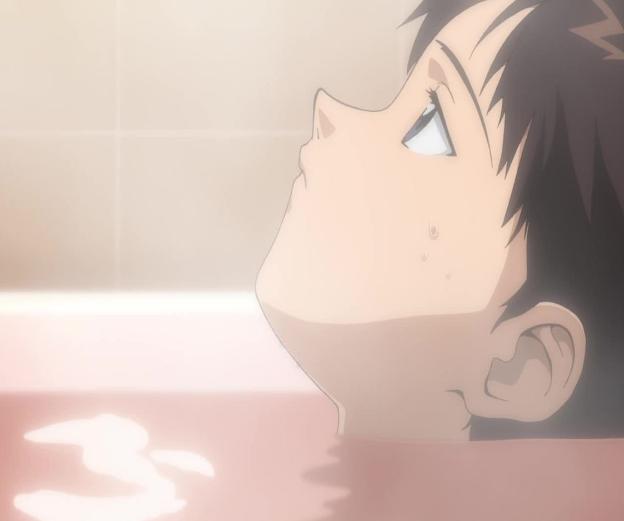 【エヴァで英語を逆輸入!】「風呂は命の洗濯よ!」は英語で?